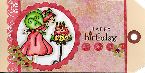 Birthday Fairy Tag