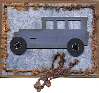 Father's Day - Card Car