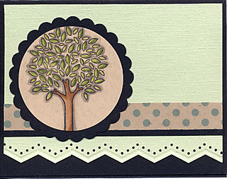 Father's Day - Tree Card