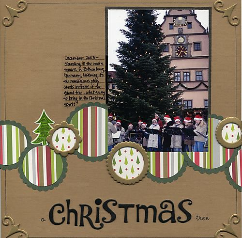 O Christmas Tree - Metallic CB