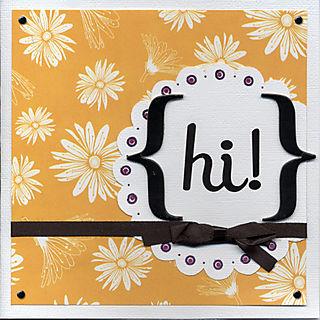 Hi Card - Eclectic