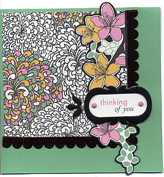 Thinking of You Card - Eclectic