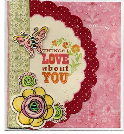 Things I Love - Card