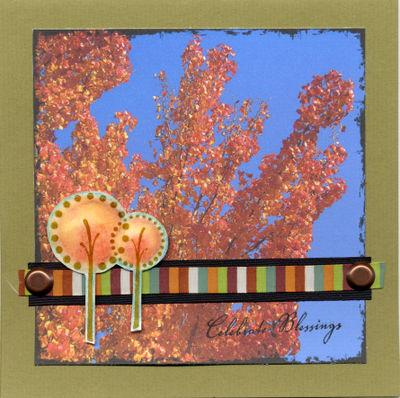 Celebrate Blessings Card