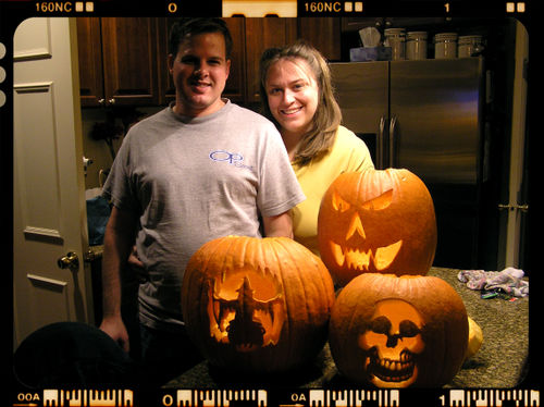 Blog - Carved Pumpkins