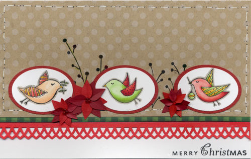 Christmas - Bird Card