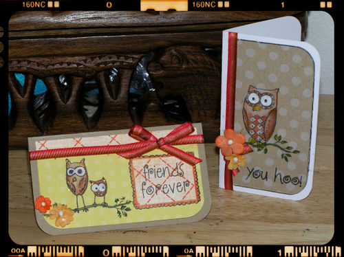 Blog - Mini Owl Cards