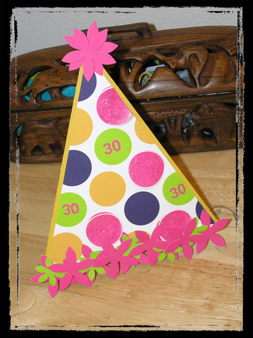 Blog - Party Hat Card