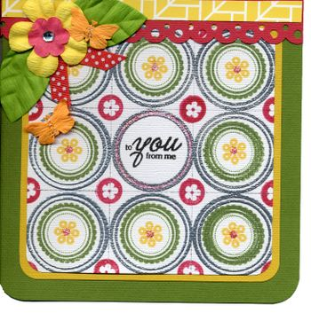 To You From Me Card