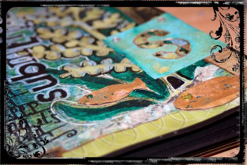 Art Journal - Submerged Close-up