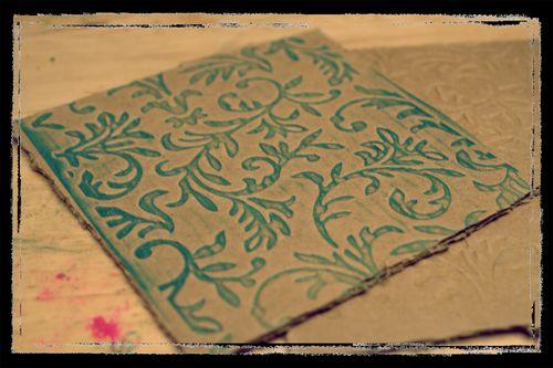 Letterpress Cardboard