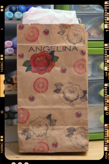 Angelina Mini Album Kit Bag