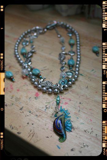 Seahorse Necklace 2