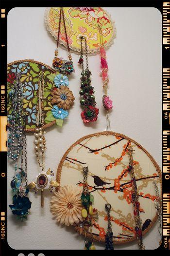 Wall Jewelry Storage - all 3