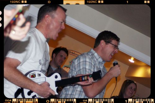 Rock Band - Alan and Clayton