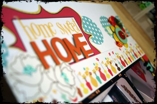 Home Sweet Home Detail 1