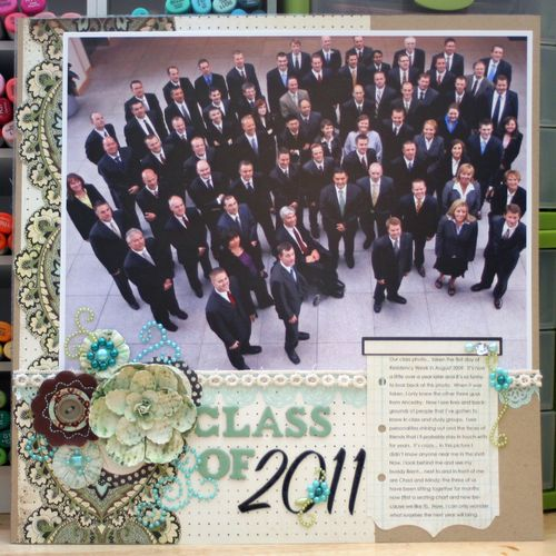 Class of 2011 Layout