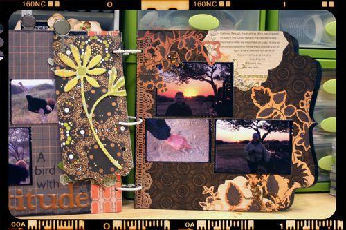 Safari Mini Album 3 Close-up