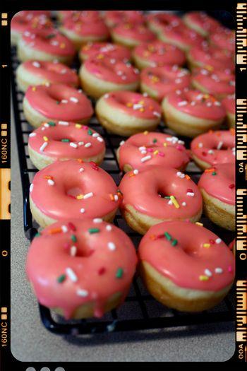 Vanilla Bean Mini Donuts
