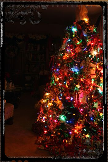 Blog - Christmas Eve Tree
