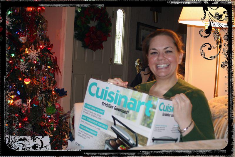 Blog - Me Opening Cuisinart