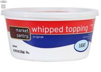 Market Pantry Whip Topping