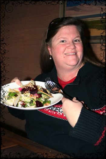 Laura with the Gorgeous Salad