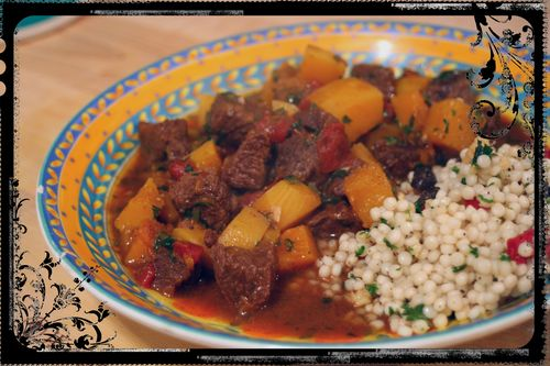 Beef and Butternut Squash Tagine 2