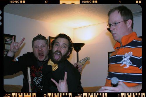 Blog - Jason, Dustin and Vic Rock Band