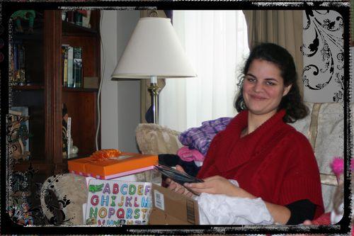 Blog - Erin Opening Scrapbook