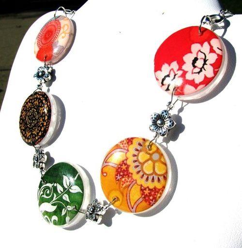 Autumn Pebble Necklace