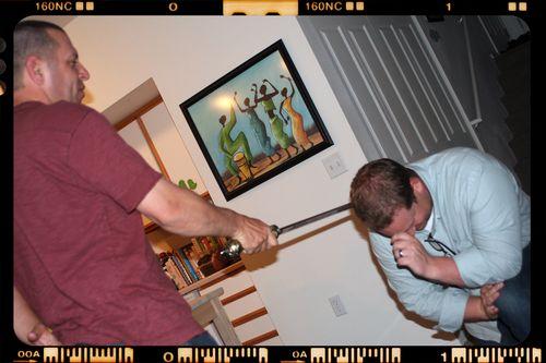 Capstone - Matt gets knighted