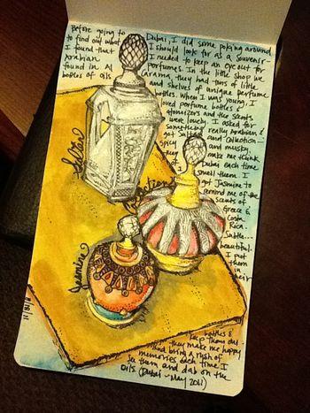 Another peek in my sketchbook