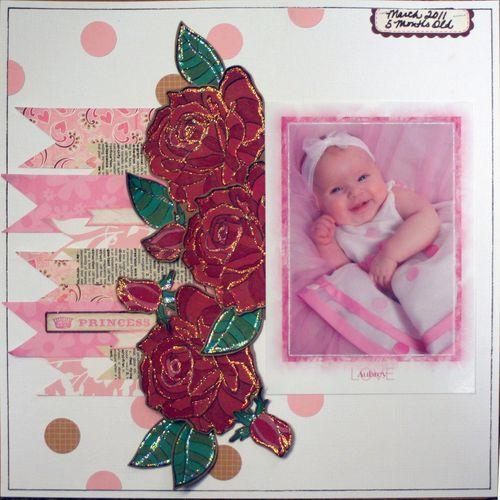 Aubrey 5 month princess