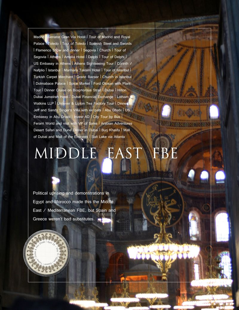 Middle East FBE Title Page