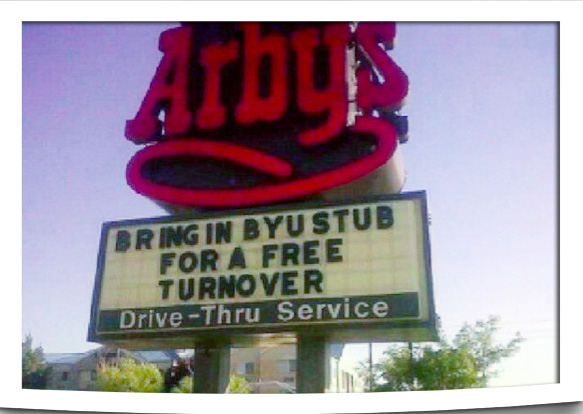 Arby's Free Turnover