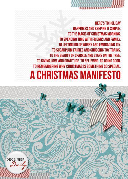 Title Page - Manifesto