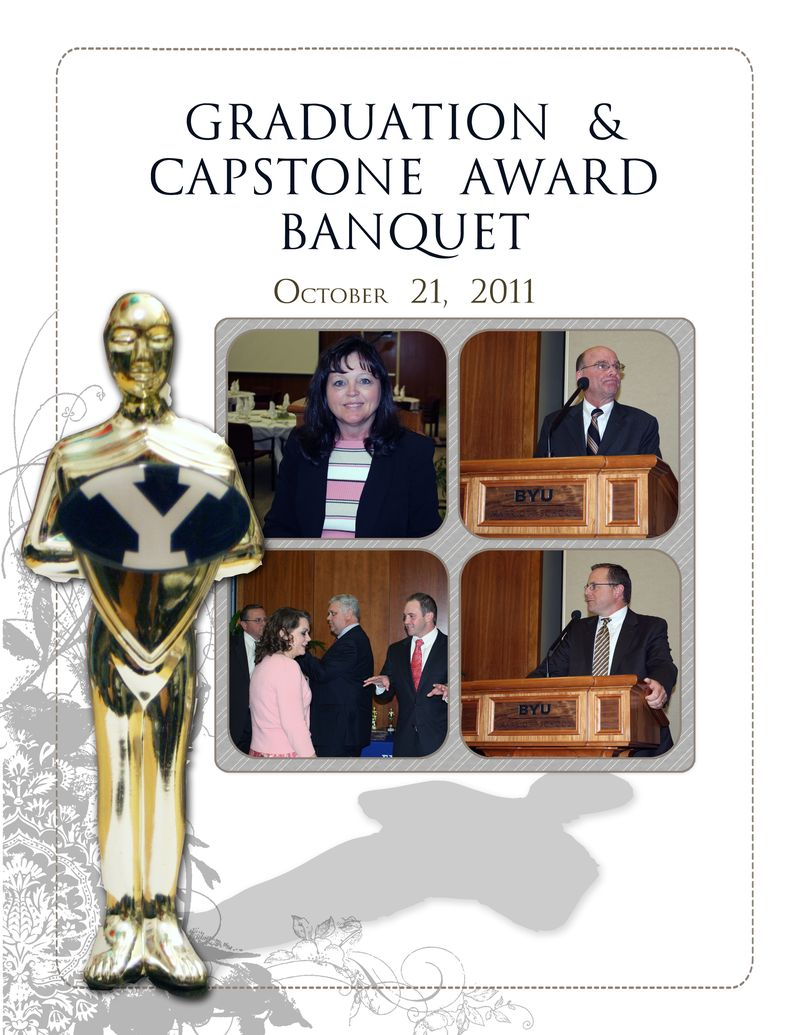 Grad Dinner Title Page