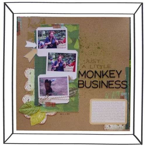 Just a Little Monkey Business
