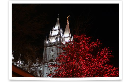 Blog - Temple Square Lights 1