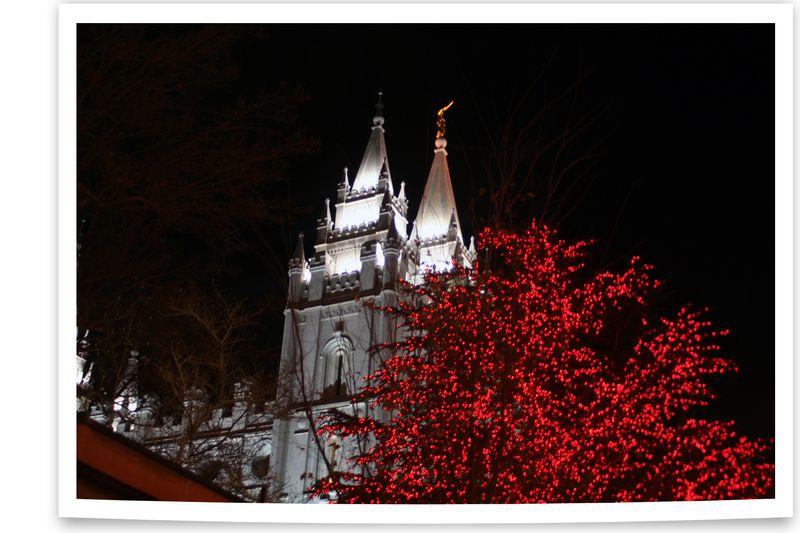 Blog - Temple Square Lights 1