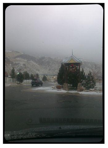 Blog - Snowy Sunday Afternoon