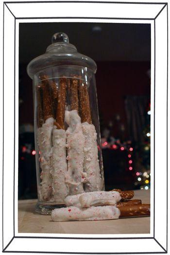 Blog - Caramel Chocolate Peppermint Pretzel Sticks