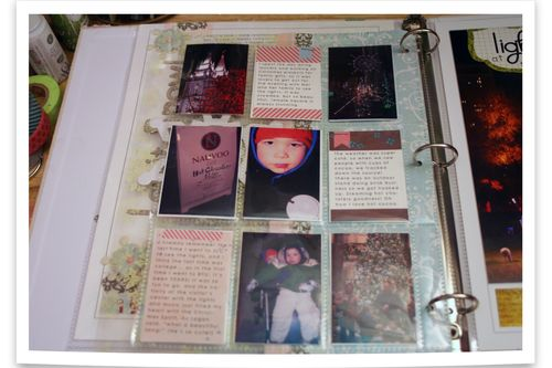 December Daily Day 3-left