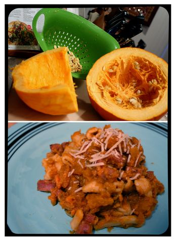 Blog - Pumpkin Sweet Potato Ragu and Pasta