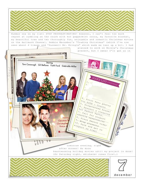 December Daily Day 7 Journaling - Blog