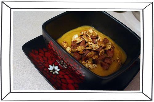 Blog - Pumpking and Sweet Potato Soup