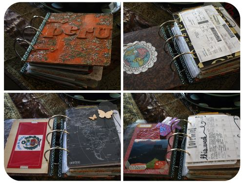 Peru Scrapbook on the Road - Set 1