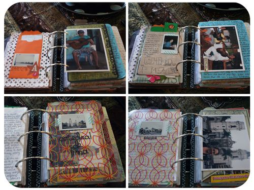 Peru Scrapbook on the Road - Set 3