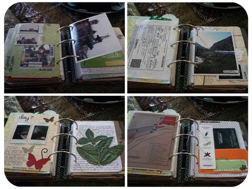 Peru Scrapbook on the Road - Set 5